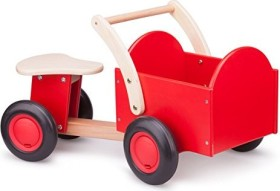 New Classic Toys Carrier Bike red (11400)