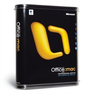Microsoft: Office 2004 Professional (MAC) (Y15-00008)