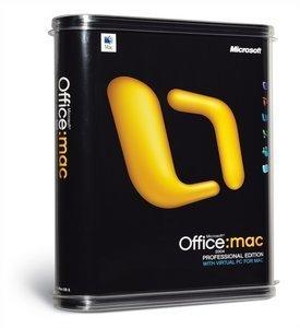 Microsoft Office 2004 Professional (MAC) (Y15-00008)