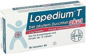 Hexal Lopedium acute 2mg tablets, 10 pieces