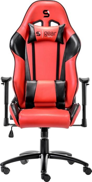 SilentiumPC SPC Gear SR300 gaming chair, red/black (SPG002)