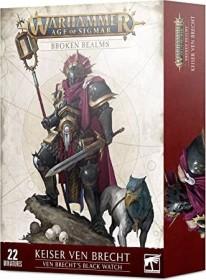 Games Workshop Warhammer Age of Sigmar - Stormcast Eternals - Broken Realms: Keiser Ven Brecht - Ven Brecht's Black Watch (99120218049)