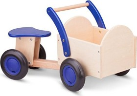 New Classic Toys Carrier Bike natural/blue (11403)