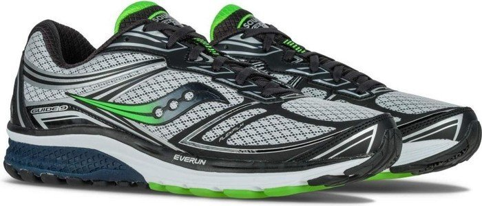a6f3e102fbcd Saucony Guide 9 navy grey slime (men) (S20295-5) starting from ...