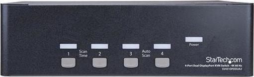 StarTech 4-way KVM switch (SV431DPDDUA2)