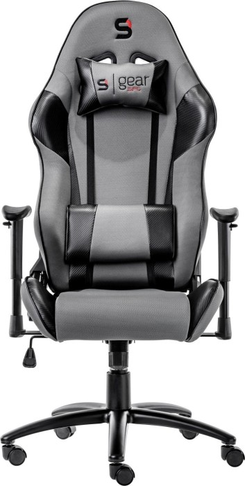 SilentiumPC SPC Gear SR300F gaming chair, grey/black (SPG004)