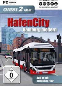 OMSI 2 - Der Omnibussimulator 2 - HafenCity - Hamburg modern (Download) (Add-on) (PC)
