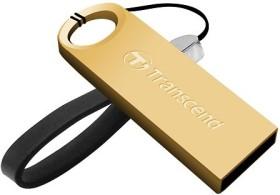 Transcend JetFlash 520 gold 32GB, USB-A 2.0 (TS32GJF520G)