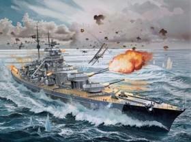 Revell Battleship Bismarck Platinum Edition (05144)