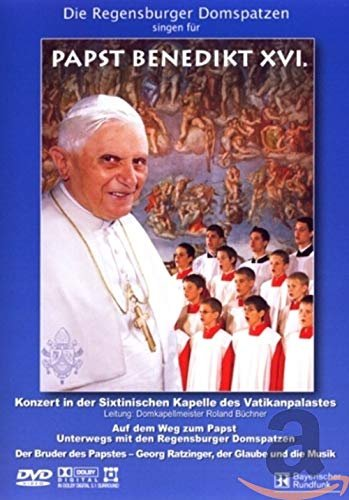 Papst Benedikt XVI. - Vatikan-Konzert (verschiedene Filme) -- via Amazon Partnerprogramm