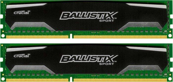 Crucial Ballistix Sports DIMM kit 4GB, DDR2-800, CL5 (BL2KIT25664AA80E)