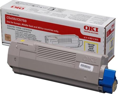 OKI Toner 43872305 gelb -- via Amazon Partnerprogramm