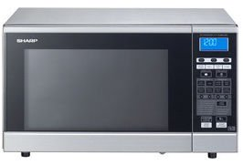 Sharp R-86STM microwave with grill/hot air