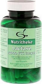 11A Nutritheke Lactase 4000 FCC Enzym Kapseln, 200 Stück