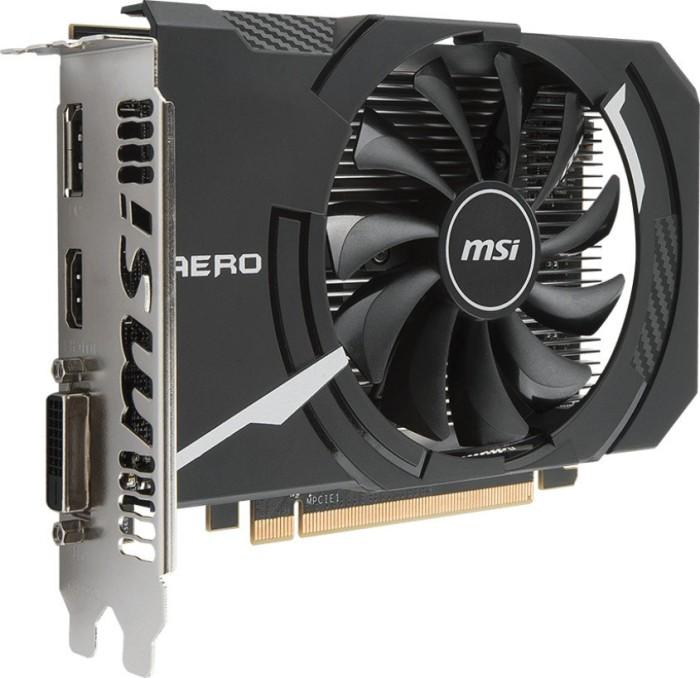MSI Radeon RX 560 Aero ITX 4G OC, 4GB GDDR5, DVI, HDMI, DP (V809-2467R)