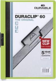Durable Duraclip 60 Klemm-Mappe A4, grün (220905)