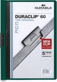 Durable Duraclip 60 Klemm-Mappe A4, dunkelgrün (220932)