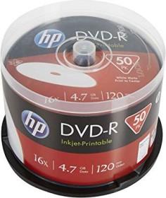 HP DVD-R 4.7GB 16x printable, 50-pack Spindle