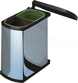 Hailo MF Swing 45.2/16bs Duo installation-garbage can (3416-10)