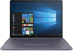 Huawei MateBook X grau (2017), Core i5-7200U, 8GB RAM, 256GB SSD, Windows 10 Pro, PL (53010APF)