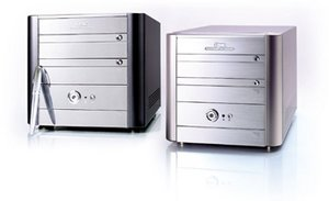 Soltek QBIC IQ3601A Mini-Barebone Alu [Sockel 370/133/PC2100]
