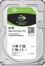 Seagate BarraCuda Pro +Rescue 8TB, SATA 6Gb/s (ST8000DM005)