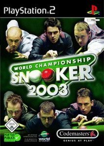 World Championship Snooker 2003 (German) (PS2)