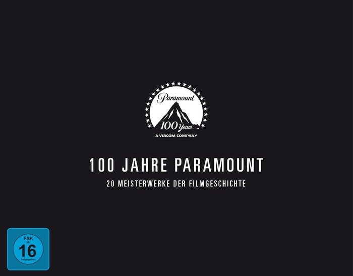 100 years Paramount Box (Blu-ray)