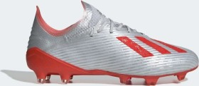 adidas X 19.1 FG silver met./hi-res red/ftwr white (Herren) (F35315)