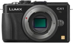 Panasonic Lumix DMC-GX1 schwarz mit Objektiv Lumix G Vario 14-42mm 3.5-5.6 OIS (DMC-GX1K)