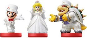 Nintendo amiibo Figuren 3er-Pack Super Mario Collection Odyssey (Switch/WiiU/3DS)