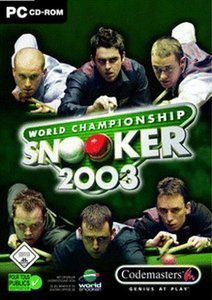 World Championship Snooker 2003 (German) (PC)
