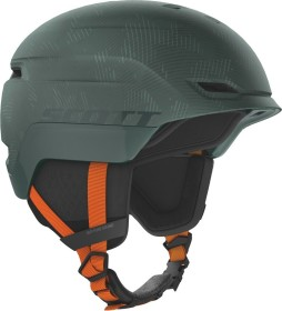Scott Chase 2 Plus Helm sombre green/pumpkin orange (271753-6624)