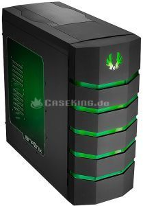 BitFenix Colossus Window black/green with side panel window (BFC-CLS-500-KKWG1-RP) -- (c) caseking