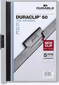 Durable Duraclip 60 Klemm-Mappe A4, grau (220910)