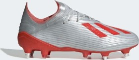 adidas X 19.1 SG silver met./hi-res red/ftwr white (Herren) (F35311)