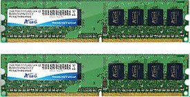 ADATA Value DIMM kit 4GB, DDR2-800, CL5 (AD2800002GOU2/AD2U800B2G5-2)