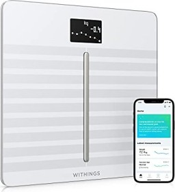 Withings Body Cardio electronic body analyser scale white