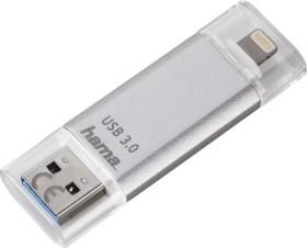 Hama FlashPen Save2Data 128GB, USB-A 3.0/Lightning (124179)