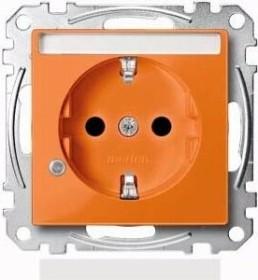 Merten System M SCHUKO-Steckdose, orange (MEG2303-0302)