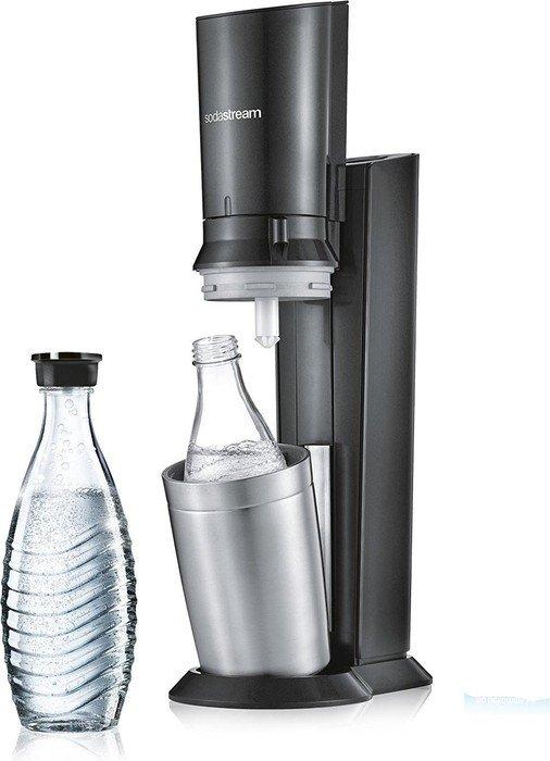 SodaStream Crystal 2.0 Umsteiger Trinkwassersprudler titan/schwarz (1016501494)