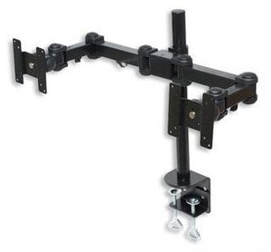 Manhattan LCD monitor Arm, for 2 LCD displays, with swivel arms (420808)