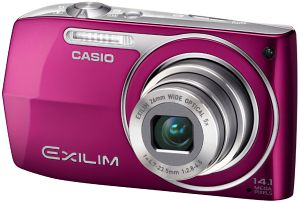 Casio Exilim EX-Z2000 red