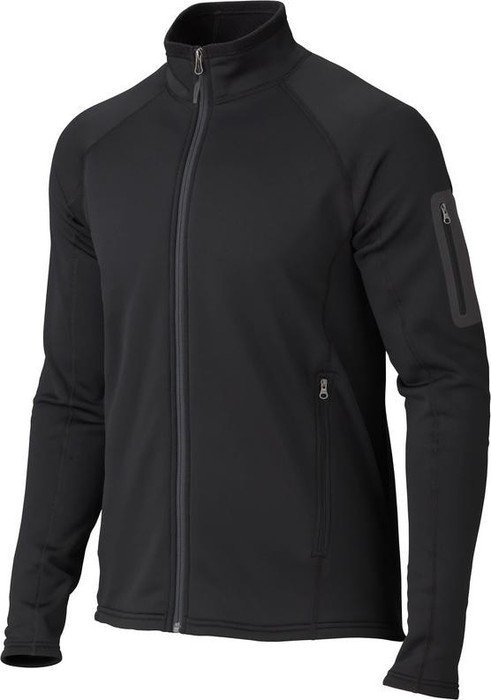 Marmot Stretch Fleece Jacke schwarz (Herren)
