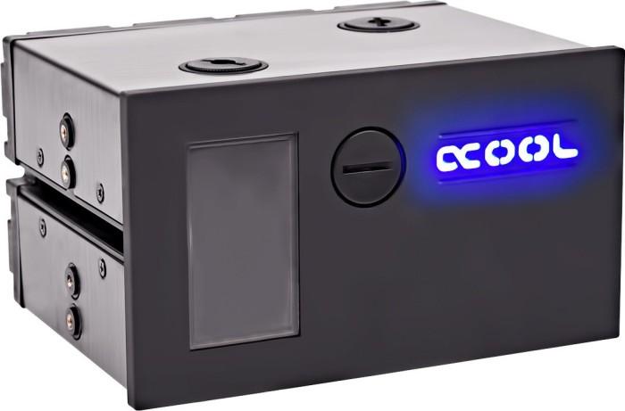 Alphacool Eisfach Single Laing DDC Ausgleichsbehälter inkl. DDC310 Pumpe silber (13285)