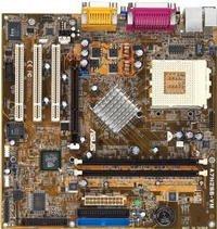 ASUS A7N266-VM/L, nForce 220D, Dolby 5.1, audio (ALC650), LAN, µATX