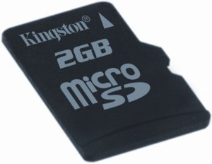 Kingston microSD 2GB (SDC/2GBSP)
