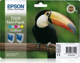 Epson Tinte T009 dreifarbig, 2er-Pack (C13T00940210)