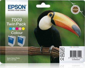 Epson T009 Tinte farbig, 2er-Pack (C13T00940210)