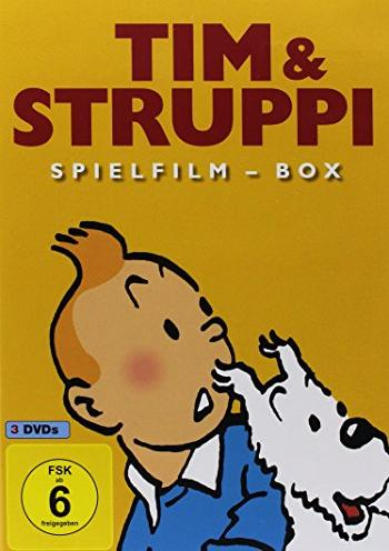 Tim und Struppi Spielfilm Box -- via Amazon Partnerprogramm